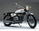 KAWASAKI - H1 - SIDE PANEL - TRANSFERS - 1970 - PEACOCK GREY MODEL - D57006